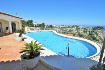 Wonderful villa with panoramic sea views for sale in Denia, Costa Blanca
